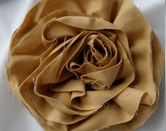 Ruffled Flower Brooch