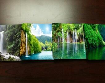 Nature Waterfall Coasters