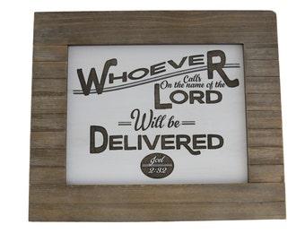Prayer/ Wisdom/ Bible Verse Art on Wood/ Christian Gift/ Scripture Art/ Christian Sign/ Encouragement