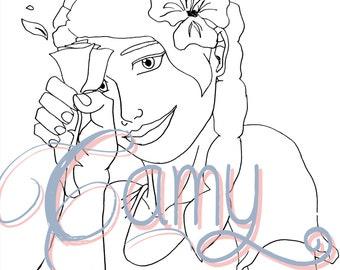 Christi Flower Girl