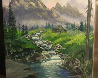 Original signed Acrylic Painting