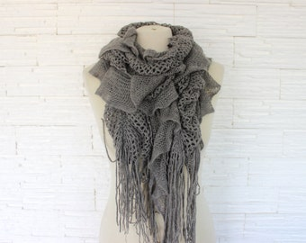 women scarf, different colours, knit scarves, warm accessory, winter, for her