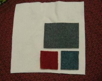 Winterberry Star Wool Kit