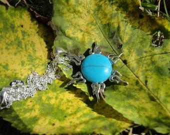 Blue Sun pendant
