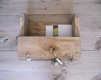 Pallet Wood Key Mail Holder
