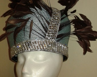OH what a privelege to own a KING NESBY haute couture hat, one of a kind always