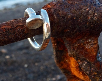 nail ring handmade unique piece
