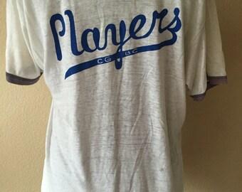 Vintage Band tshirt 80's band t shirt Players Medium