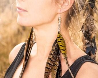 Wild Feather Earrings