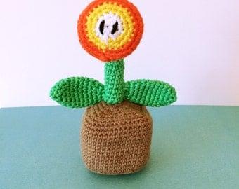 Mario fire flower Etsy