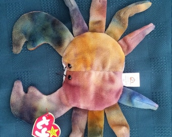 TY Claude (the crab) Beanie Baby *Retired