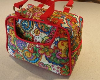 Quilted Handbag (made in America)