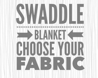 Swaddle Blanket. Baby Blanket. Double Gauze Blanket. Swaddler.