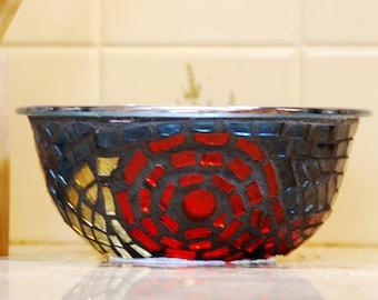 Swirling Mosaic Bowl