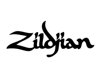 Zildjian Logo Vinyl Decal
