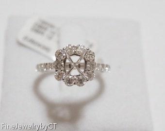 18k Diamond Ring Setting
