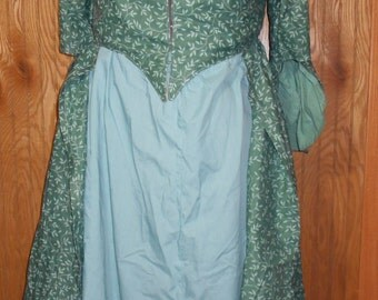 Polonaise Styled Colonial Dress