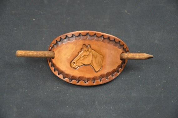 Stick Barrette - Horse Head