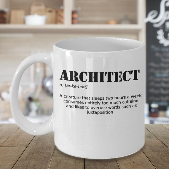 Gift For Architect Architect Gift Funny By Coffeemerchandise