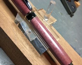 Supreme rollerball Purple Heart Wood