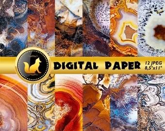 Agate Gem Stone Background,Gem Stone Digital Paper,Gem Stone Scrapbook Paper Printable Gem Stone Background,digital paper,scrapbooking paper