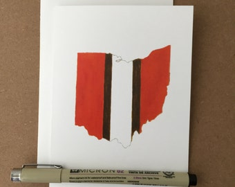 Browns Ohio Stationery