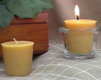 Bayberry Scented Votive Candles - Burn on Christmas Eve for Good Luck