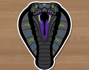 Neon Cobra Sticker