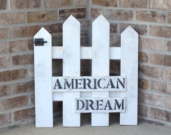 American Dream Picket Fence