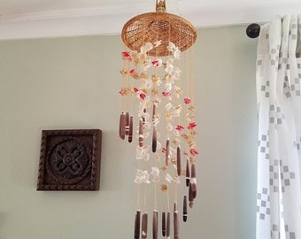 Shell Wind Chime Etsy