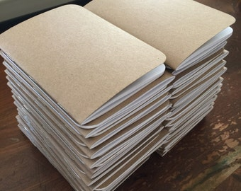 Bulk Kraft Notebook | 3.5 x 5 | Pocket Notebook | Notebook | Sketchbook | Journal | Kraft Journal | Bulk Sketchbook | Bulk Journal