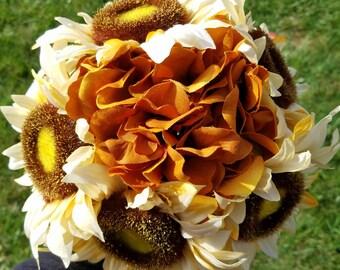 10 inch Sunflower bouquet