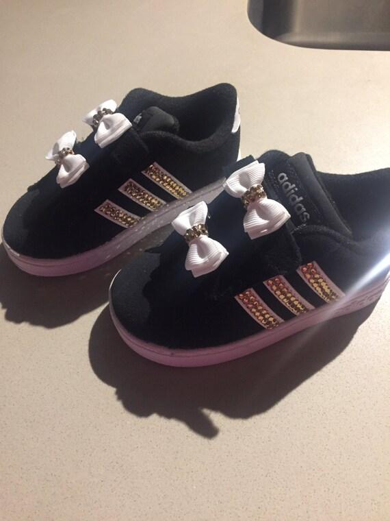Baby Girls Toddler Rhinestone Adidas Shoes