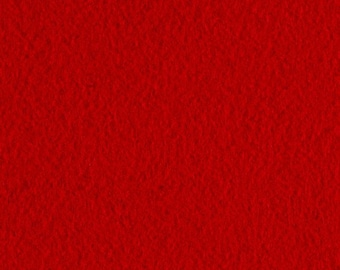 Red Craft Felt Fabric - Kunin Felt - Crafting Felt