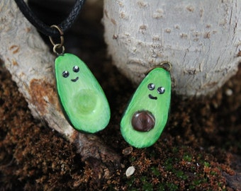 Avocados key ring / pendant to share.