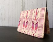 Card Wallet - Pink Arrow