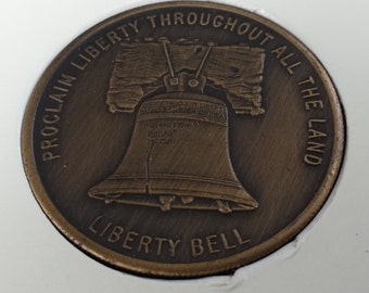Oral Roberts Liberty Bell 1973 Token Coin