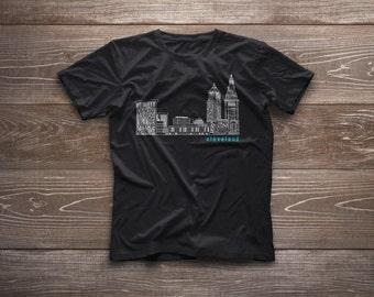Cleveland Skyline Tee