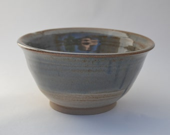 ceramic serving bowl, dish, stoneware