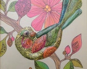 Juanita 8x10 -  Original Painting on canvas