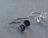 Organic Bud Drops- small flower earrings
