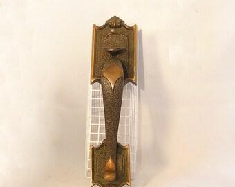 Antique BRONZE Thumb Latch DOOR Handle SARGENT & Co.
