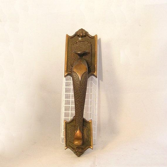 Items Similar To Antique Bronze Thumb Latch Door Handle