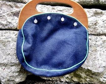 Vintage Boho Bag/70s Purse/60s Purse