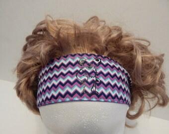 Grateful Dead Dancing Bear Fabric Reversible Headband Elastic Back Hair band, Head Band, hippie, boho chic, hair wrap, headband