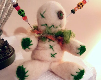 Custom Needle Felted Voodoo Doll