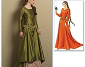 Butterick B4827 Making History Medieval Style Dress, Womens Size EE 14-20