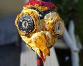 Mr Owl Paper Mache Rattle