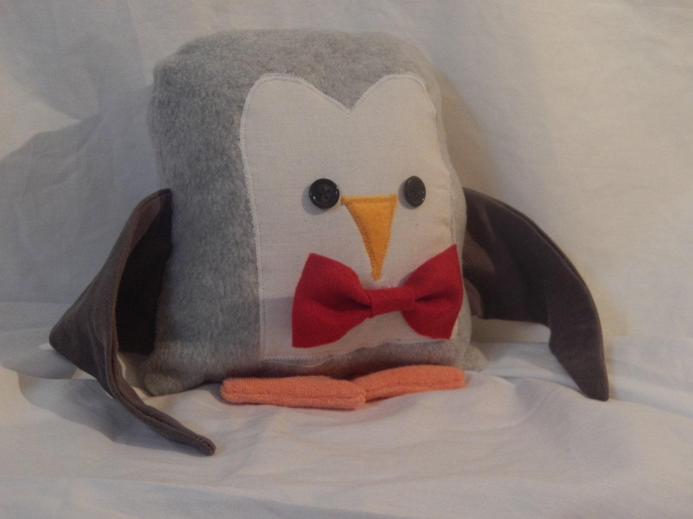Animal Character Pillows : Penguin Pillow Stocking Stuffer Penguin Stuffed Animal