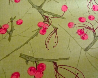 Martha Negley Seasons  Cotton Fabric by Freespirit Fibers - Winter MN90